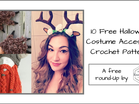10 Free Crochet Halloween Accessories to Complete Your Costume