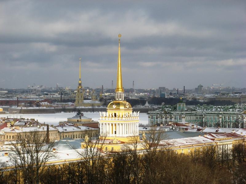 Санкт-Петербург. Вид с колоннады Исаакиевского собора. Семейный сайт Татьяны и Игоря Филаткиных.