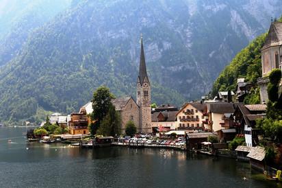 Альпийские каникулы 2018. Часть 3-я. Хальштатт.