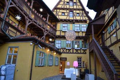 Отель Hezelhof. Динкельсбюль.