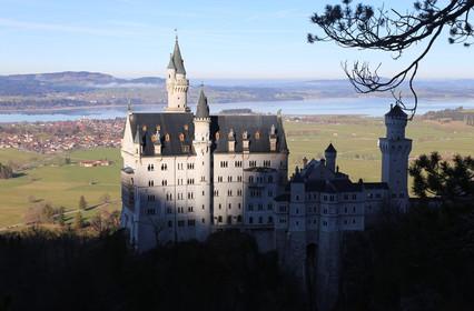 Сказочная Бавария. Часть 9-я. Замки Нойшванштайн и Хоэншвангау.