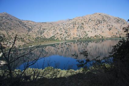 Остров Крит. Часть 7-я. Озеро Курнас.