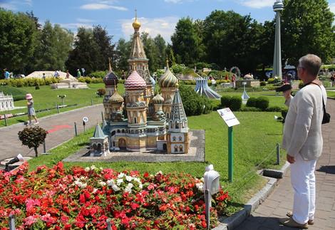 Парк миниатюр Минимундус. Австрия.