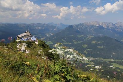 """Альпийские каникулы 2018. Часть 6-я. Немного Баварии. Чайный домик Гитлера """"Орлиное гнездо&quot"""