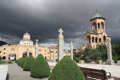 Удивительная Грузия. Часть 6-я.  Тбилиси.