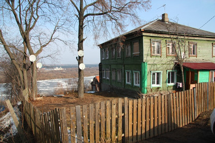 Кашира и Зарайск, а между ними - Истоминка.