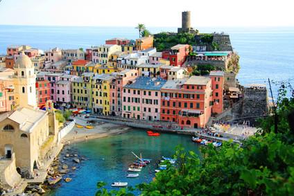Великолепная Италия. Часть 8-я. Чинкве-Терре.