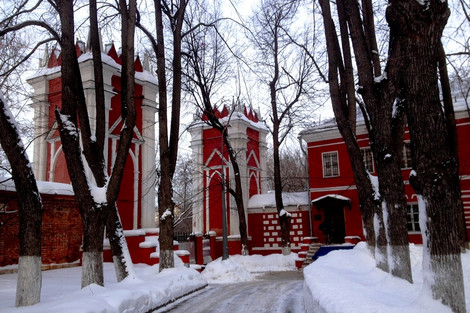 Михалково - усадьба П. И. Панина на севере Москвы.