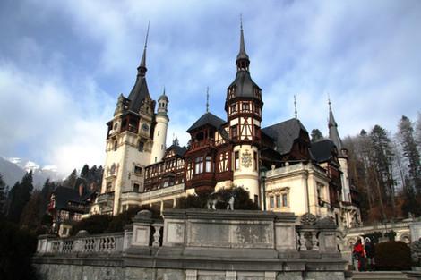 Часть 6-я. Трансильвания (автопутешествие в Румынию в новогодние каникулы 2015-2016). Замки Пелеш и