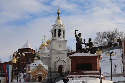 Новогоднее путешествие 2019. День 2-й. Нижний Новгород.
