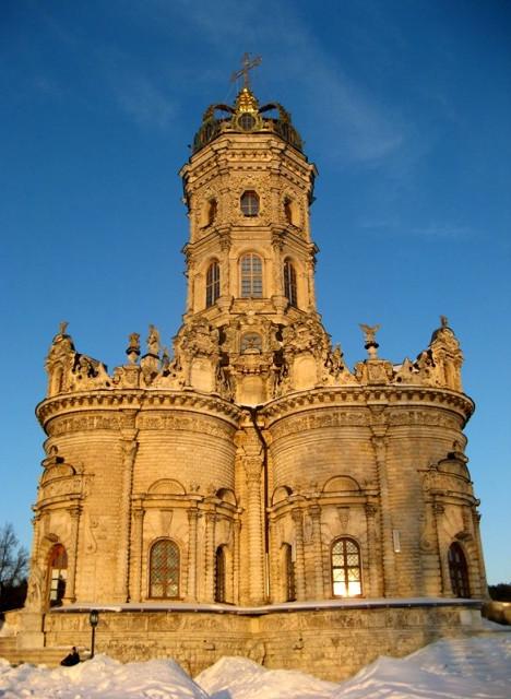 Церковь Знамения Пресвятой Богородицы в Дубровицах. Семейный сайт Татьяны и Игоря Филаткиных.