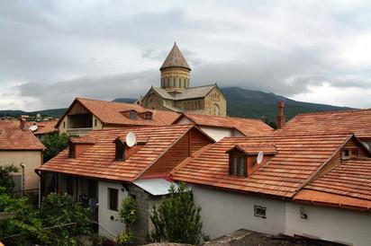 В гостях у Кэти (гостевой дом Guesthouse Mtskheta-Kapanadze).