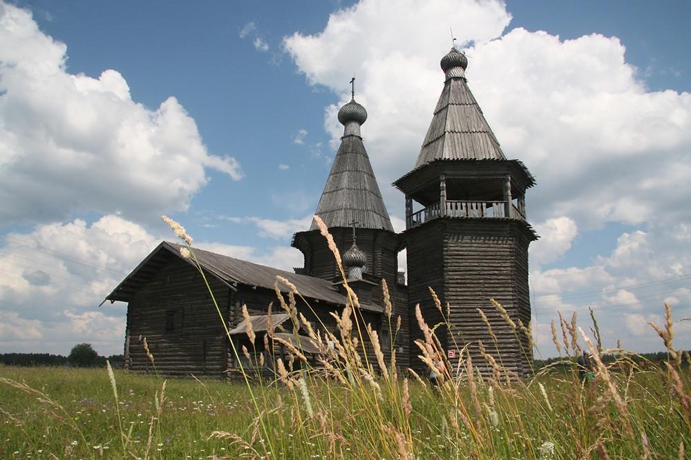 Церковь Иоанна Златоуста близ Каргополя. Семейный сайт Татьяны и Игоря Филаткиных.