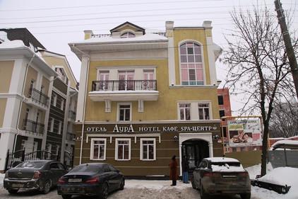 Гостиница Аура. Вологда.