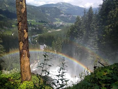 Альпийские каникулы 2018. Часть 8-я. Криммльский водопад. Высокогорная панорамная дорога Гроссглокне