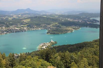 Альпийские каникулы 2018. Часть 9-я. Каринтия. Интересности озера Вёртерзее. Клагенфурт.