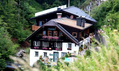 Гостевой дом в Альпах Hupfmühle Pension.