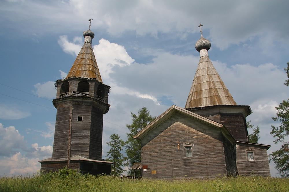 Церковь Богоявления Господня в деревне Погост. Семейный сайт Татьяны и Игоря Филаткиных.