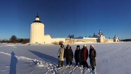 Кирилло-Белозёрский монастырь.
