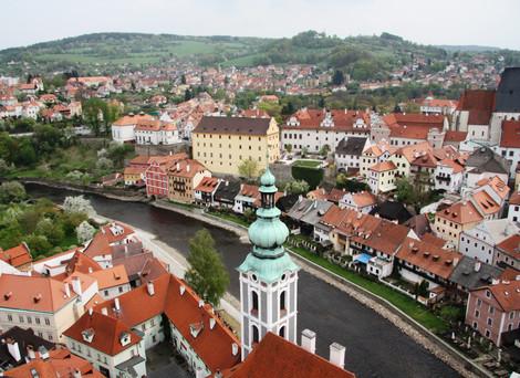 Наше первое автопутешествие в Европу. Чехия. Апрель 2011.