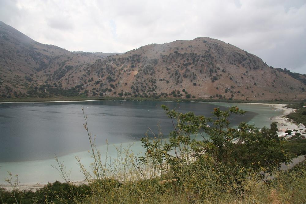 Озеро Курнас, Греция, Крит