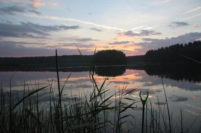 Отдых на озере Верято Псковской области.