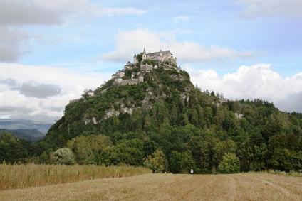 Замок Гохостервиц (Hochosterwitz ).