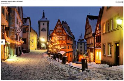 Бавария зимой.