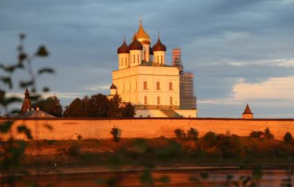 Четырёхдневное автопутешествие в Псковскую область - это - целый отпуск! Часть 2-я. Псков.