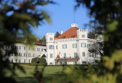 Сказочная Бавария. Зимние каникулы 2017-2018. Часть 12-я. Замок Сисси в Поссенхофене. Дрезден.