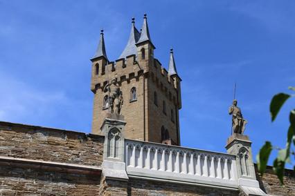 Знакомство с Францией. Часть 21-я. Обратная дорога. Германия. Замок Гогенцоллерн. Вечерний Вюрцбург.