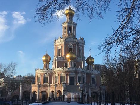 Храм Покрова Пресвятой Богородицы в Филях.
