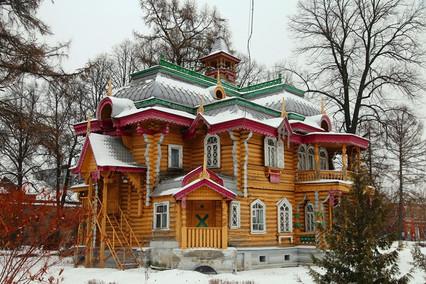 Деревянные терема и усадьбы Нижегородской области.