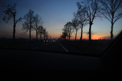 Часть 1-я. Новогодние каникулы 2012 - 2013. Польша - Венгрия. Дорога.