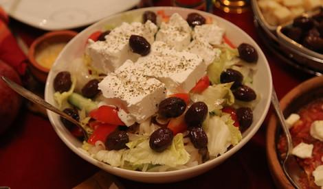 Греческий ужин удался!