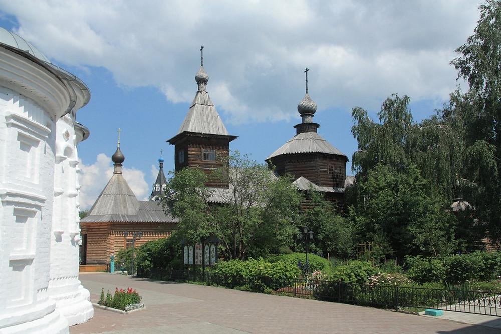 Свято-Троицкий новодевичий монастырь, Муром, семейный сайт Татьяны и Игоря Филаткиных