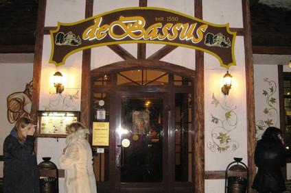 """Ресторан баварской кухни """"De Bassus"""""""