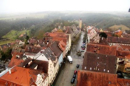 Романтическая дорога Германии.