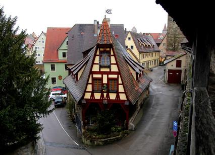 Ротенбург-на Таубере. Прогулка по городу. Что  можно увидеть в Ротенбурге-на Таубере за один день.