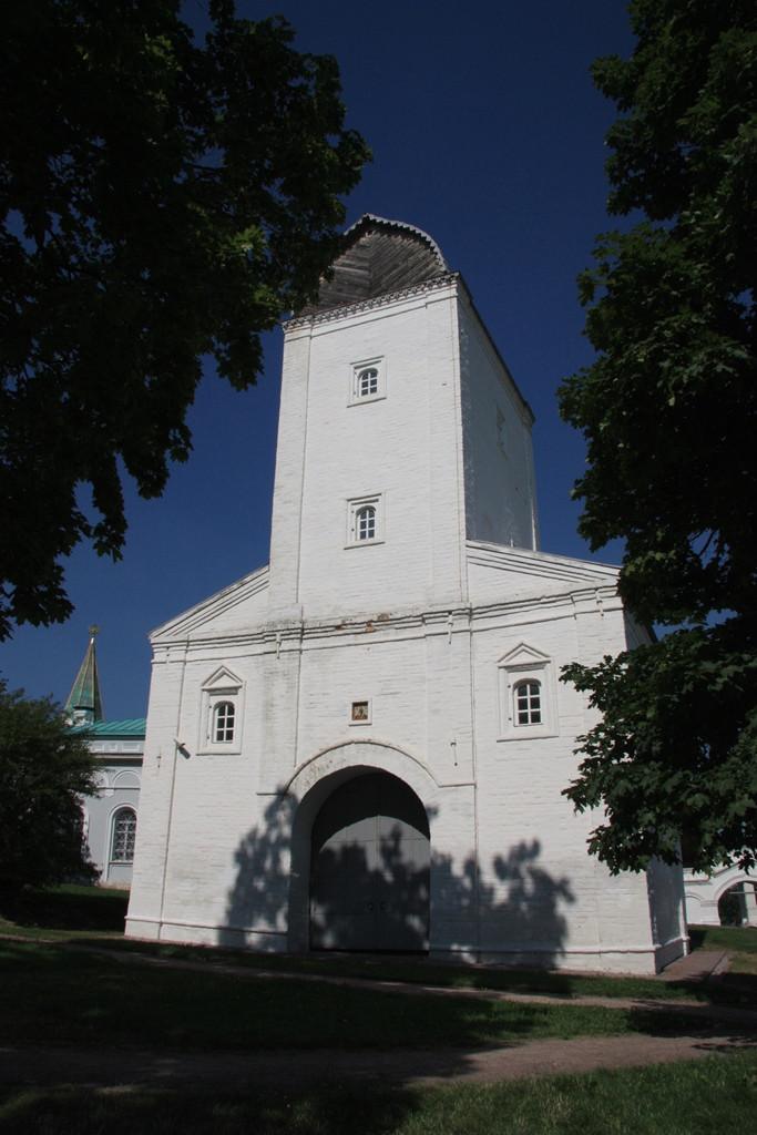 Водовзводная башня. Коломенское. Семейный сайт Татьяны и Игоря Филаткиных.