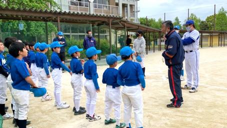 元横浜DeNAベイスターズ選手による野球教室開催!