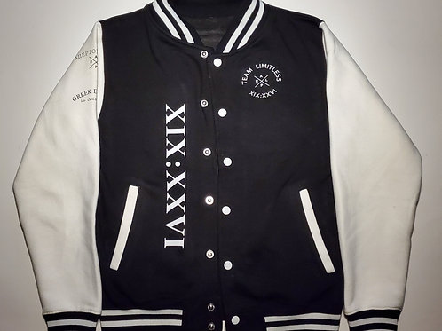 Team LIMITLESS Varsity Jacket