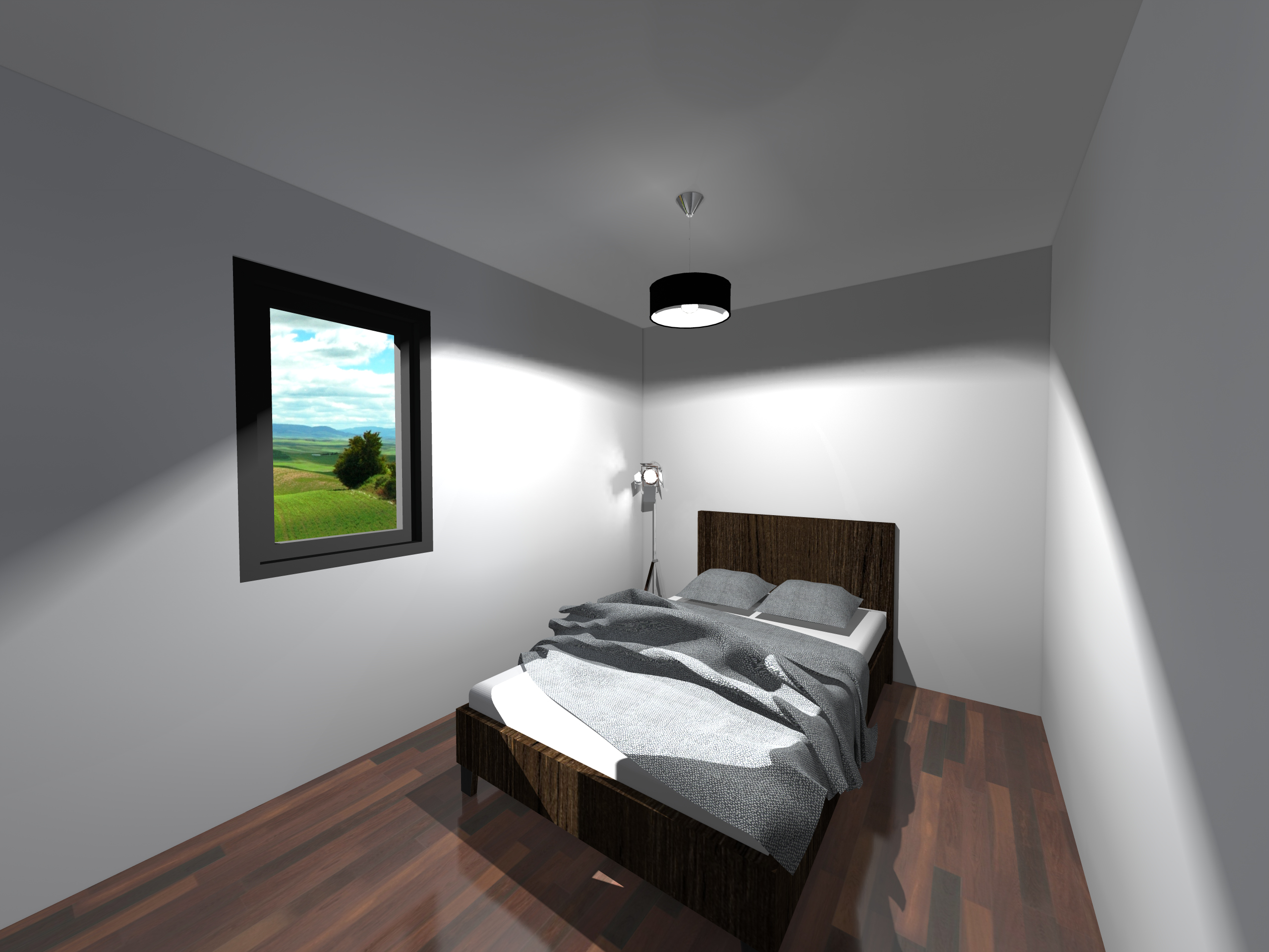 Rendu chambre 2-Esquisse 1