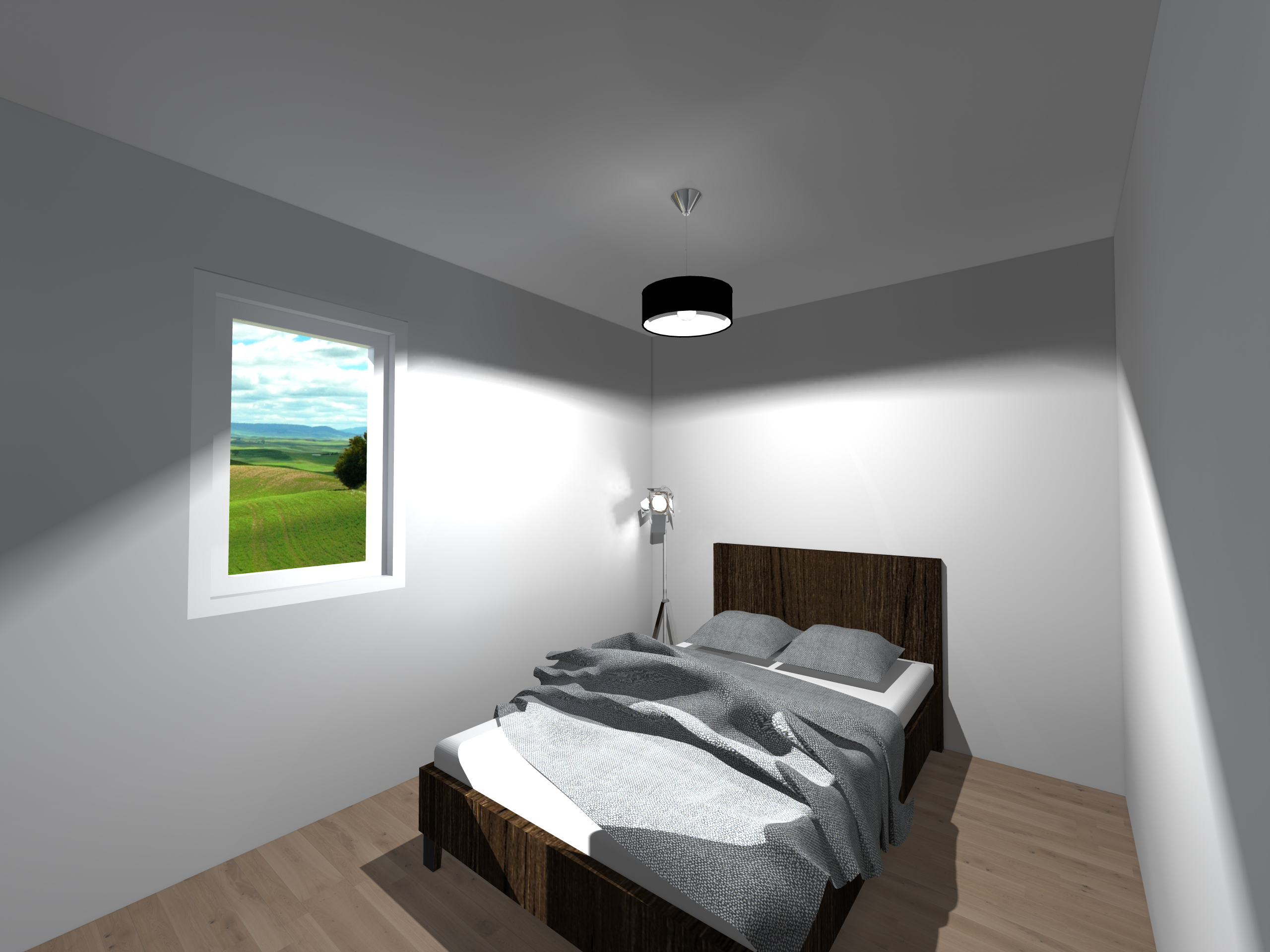 Rendu chambre 2-Esquisse 2