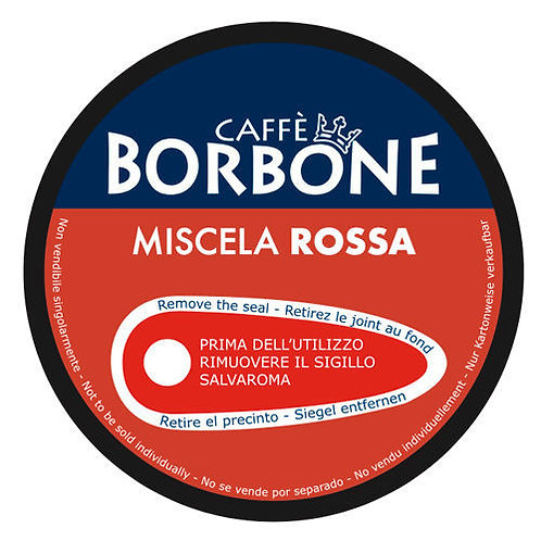 90 Capsule Borbone Dolce Re  Rossa