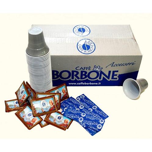 kit Borbone 100 zucchero,bicchierini, palette