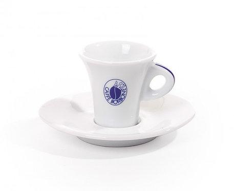 6 Tazzine Caffè Borbone complete di piattini