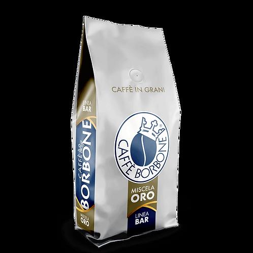 6 x 1kg Caffè Borbone in grani ''bar'' oro