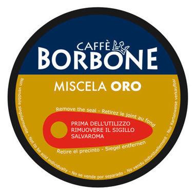 90 Capsule Borbone Dolce Re miscela Oro