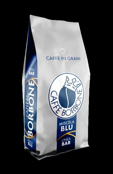 6 x 1kg Caffè Borbone in grani ''bar'' blu